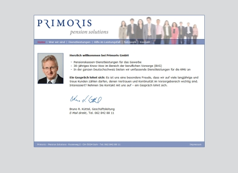 Primoris Pension solutions