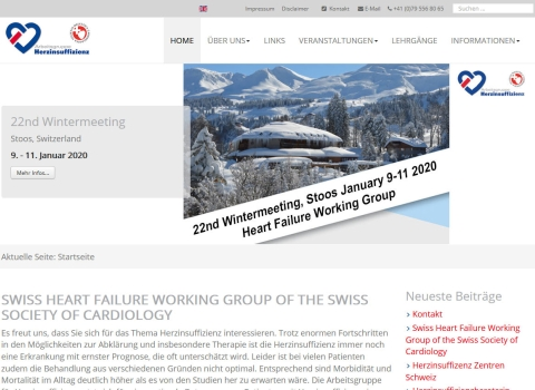 Swiss Heart Failure Working Group of the Swiss Society of Cardiology
